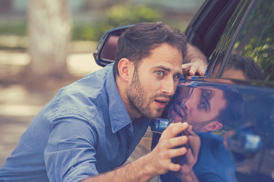 krassen op je auto